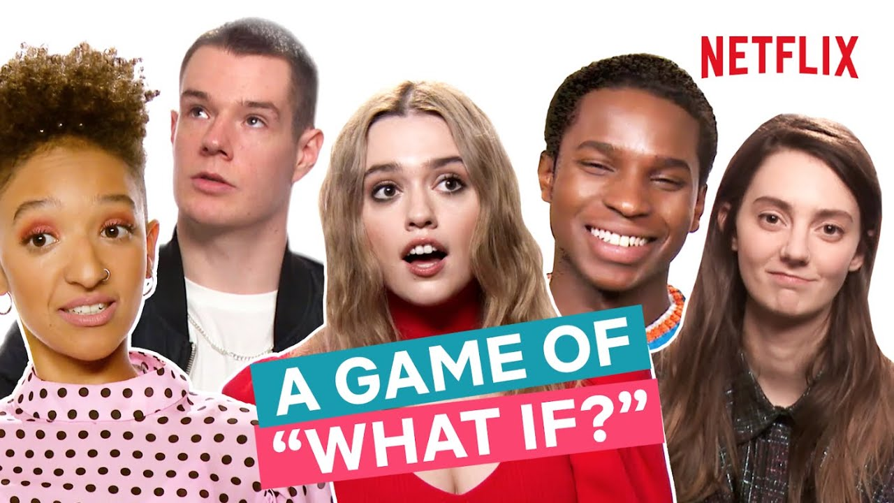 The Sex Education Gang Play A Game of What If | Netflix