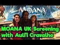 Auli'i Cravalho @ Moana Gala Screening - London video & mp3