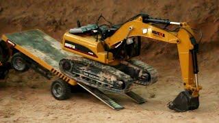 Now Excavator & Truck Digging New Construction! part 60