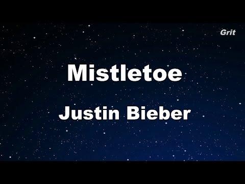 Mistletoe - Justin Bieber Karaoke 【No Guide Melody】 Instrumental