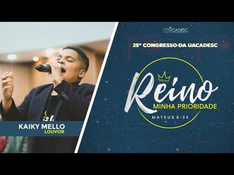 25º Congresso da UACADESC - Kaiky Mello l Eu Navegarei