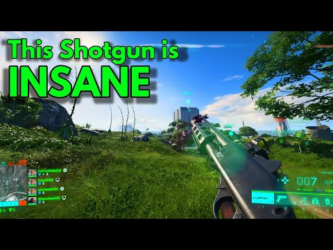 You need to try the shotgun in bf 2042 beta