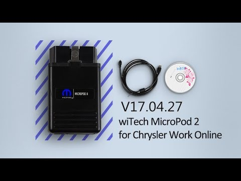 wiTECH 2 V17 04 27 wiTECH Micropod 2 Software Install Guide