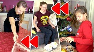OD TYŁU CHALLENGE z ANIĄ *ubieramy choinkę, przygotowujemy Święta*