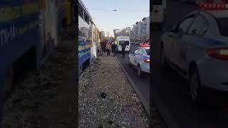 Трамвай насмерть сбил пешехода в Улан-Удэ. Видео с места