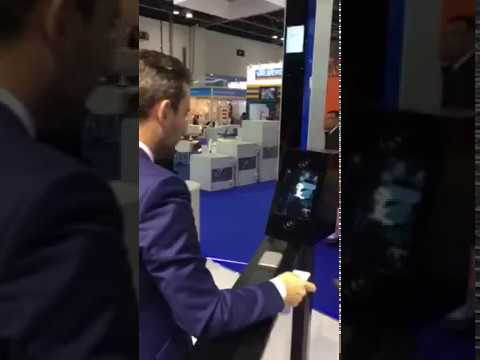 Magnetic Auto Control Sea-Border Gate (Intersec 2017 in Dubai,UAE)