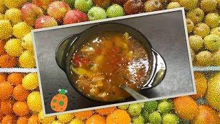 Рецепт №2. Суп из свинины с овощами