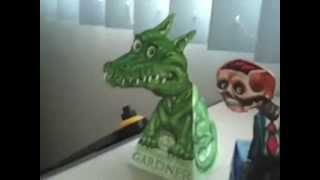 Repeat youtube video Make your own  3D paper hollow face illusion (Print)