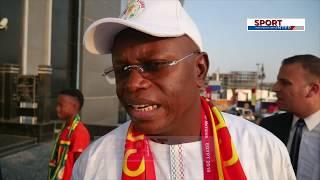 بالفيديو.. التذاكر تشعل صراع بين جماهير السنغال ووزيرها - الشباك الرياضي