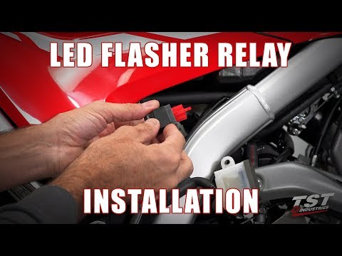 How To Install An LED Flasher Relay On A 2017+ Honda CRF250L By TST Industries