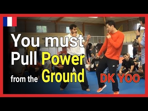 you must pull power from the ground - DK Yoo in Dijon