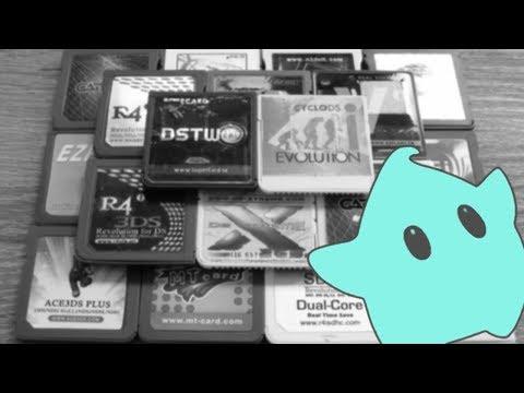 Alte DS Flashkarten