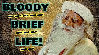 Sadhguru -When somebody is living better than us..