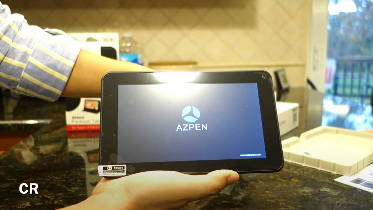 Azpen A700 (7` Android Tablet Running 4 2 Jellybean): Unboxing and First  Look