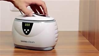 Produktvideo zu Ultraschall-Reinigungsgerät Senoclean Sonic Plus