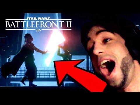 STAR WARS BATTLEFRONT 2: TRAILER de LANZAMIENTO !! - REACCIÓN
