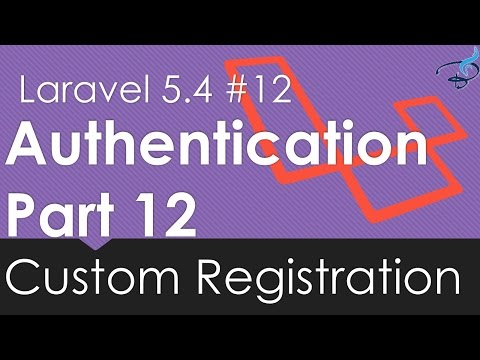 Laravel 5.4 Authentication | Custom Registration #12 | Bitfumes