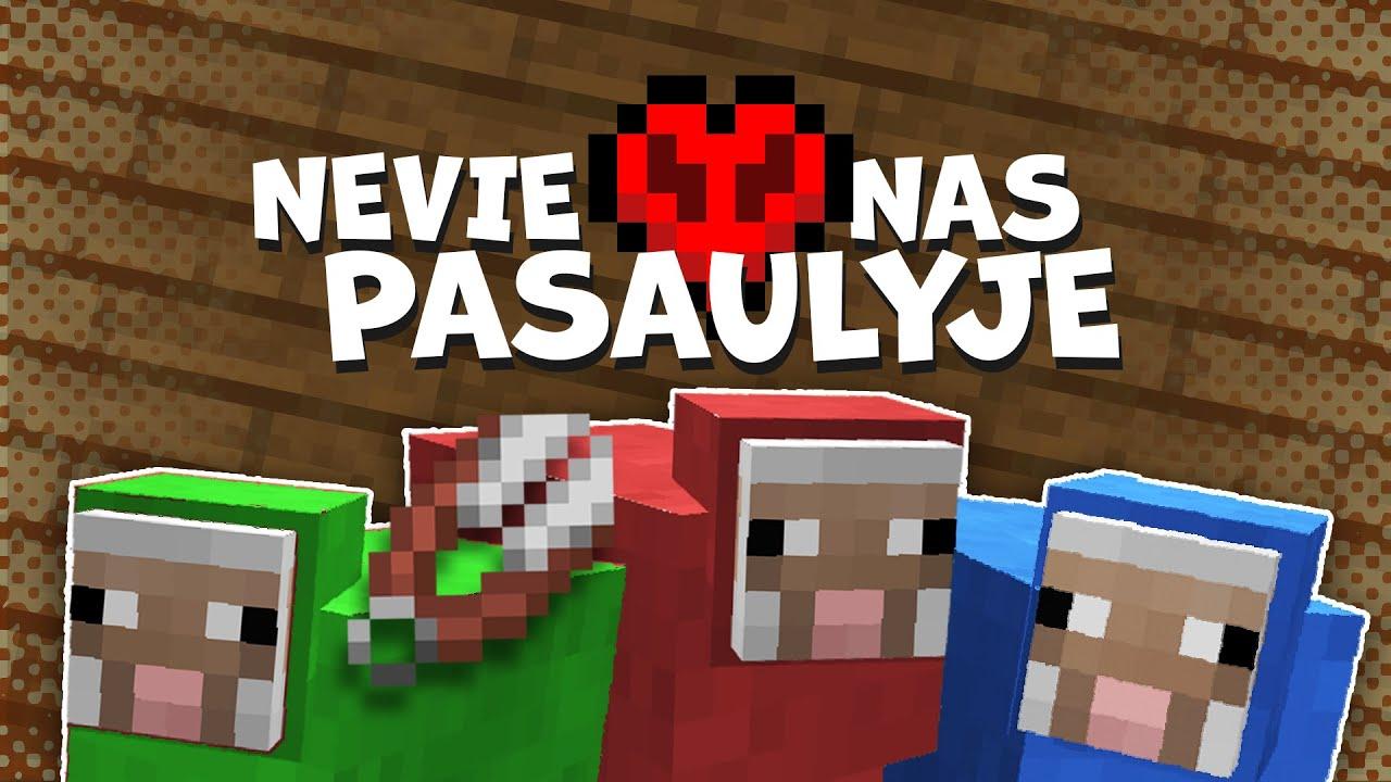 Geriausias Būdas Gauti Vilnos #10 Minecraft Hardcore lietuviškai