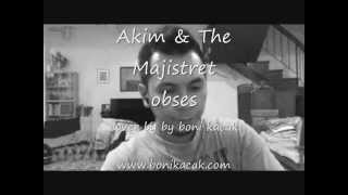 Akim & The Majistret  Obses cover