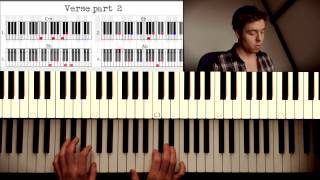 How to play: Christina Perri - Jar of hearts. Original Piano lesson. Tutorial by Piano Couture.