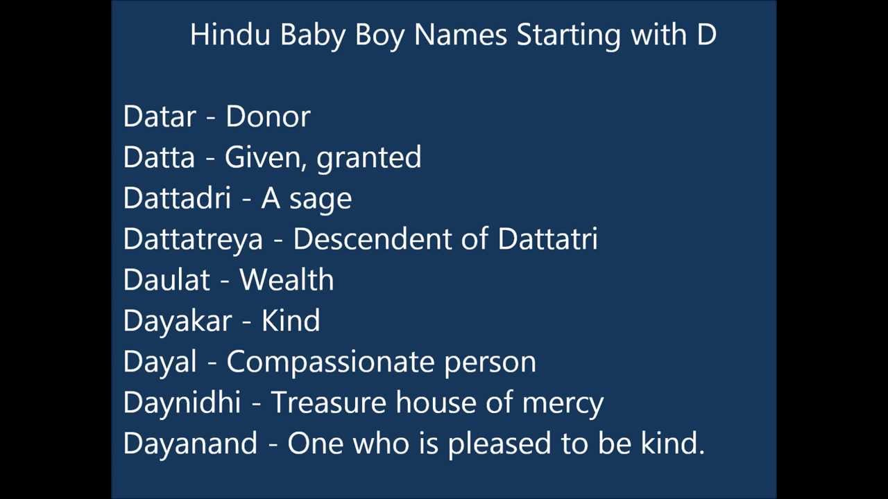 Modern baby boy names starting with dh