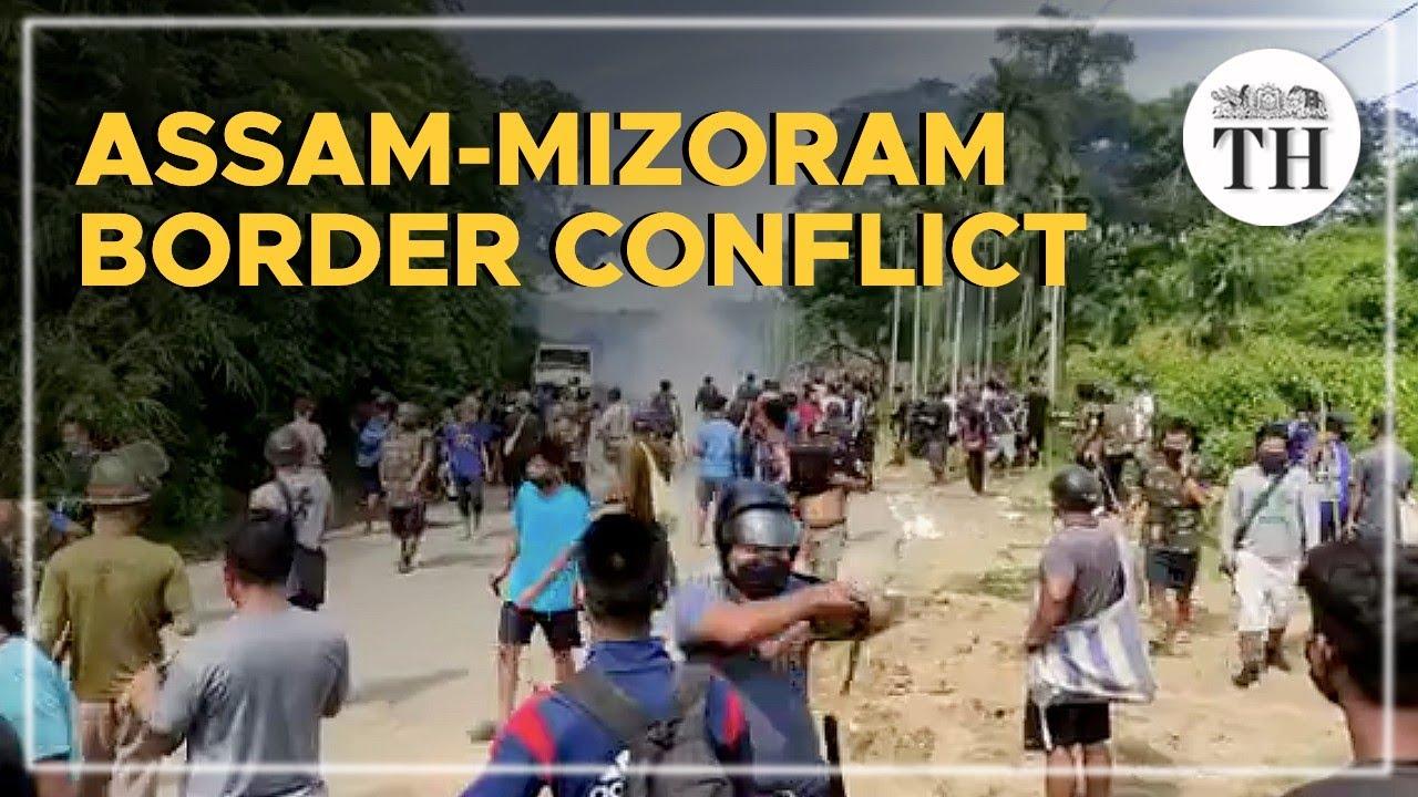 Explained | Assam-Mizoram border conflict