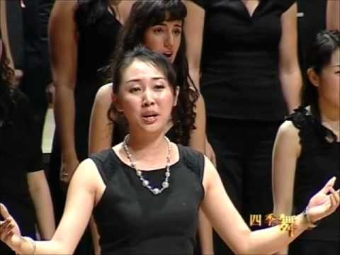 ''Moo Li Hua'' (Jasmine flower) Chinese traditional by World Youth Choir 2008 China tour