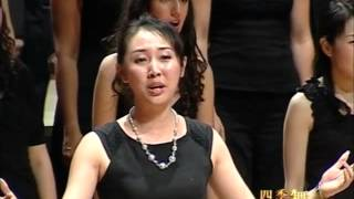 Video ''Moo Li Hua'' (Jasmine flower) Chinese traditional by World Youth Choir 2008 China tour download MP3, 3GP, MP4, WEBM, AVI, FLV Mei 2018