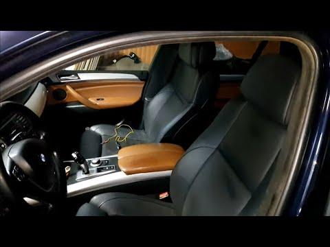 Установка передних сидений Комфорт салона BMW X5 E70