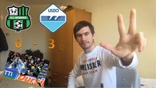 SASSUOLO-LAZIO 0-3 (LIVE REACTION)