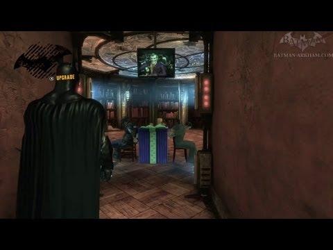 Batman: Arkham Asylum - Walkthrough - Chapter 25 - Hostages in the Library