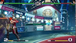 The King of Fighters XIV Combos - Iori (10/14)