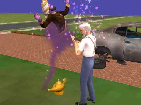 The Genie - The Sims 2 Free Time - YouTube