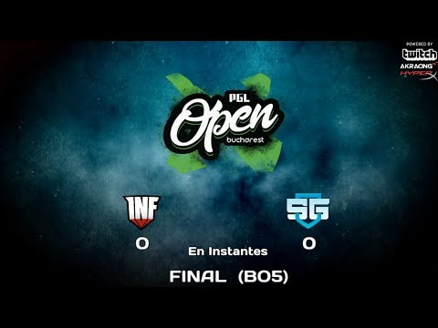 [ESP/Perú] Infamous Gaming vs SG e-Sports (FINAL BO5) PGL Bucharest Minor - SA Qualifiers - Mr.Choco