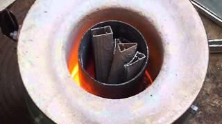 Forno fundição aluminio