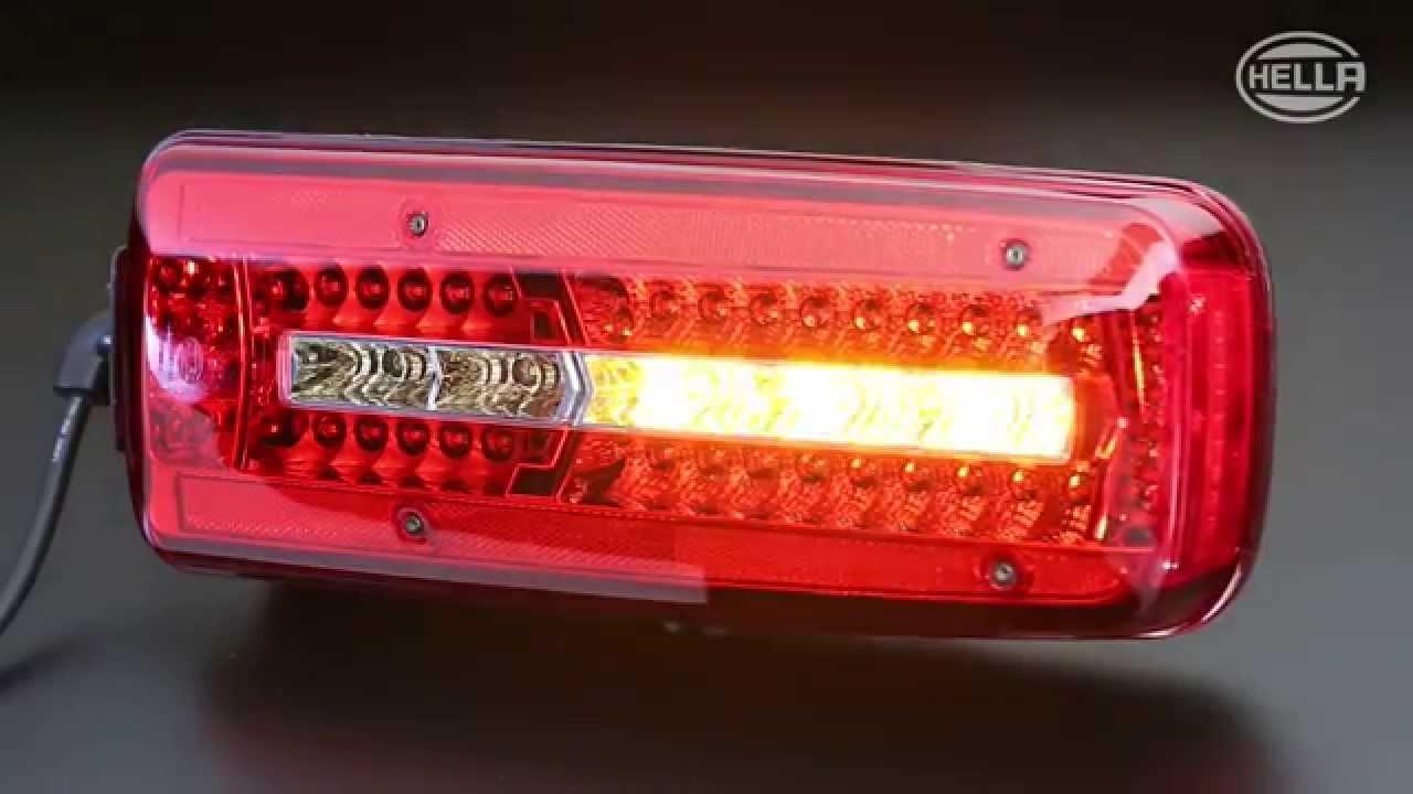HELLA  Full LED Rear Combination Lamp  YouTube