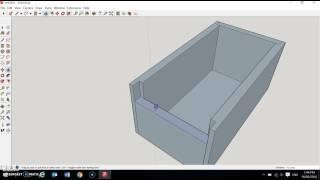 sketchUp box tutorial