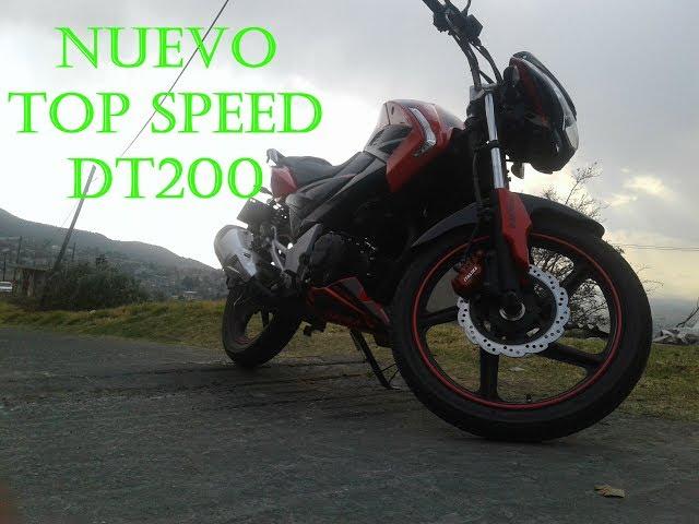 VELOCIDAD MÁXIMA DT 200 (SEAN)