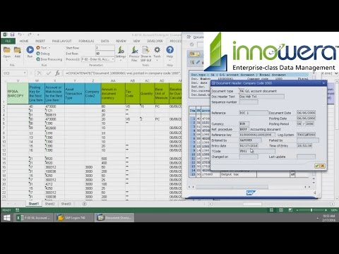 F-02 GL Account Posting in SAP   Video Tutorial   Innowera