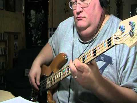Rush Stick It Out Bass Cover