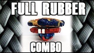 FULL RUBBER BEYBLADE COMBO!