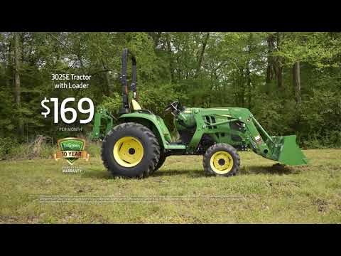 TriGreen Equipment 3025E Tractor With Loader