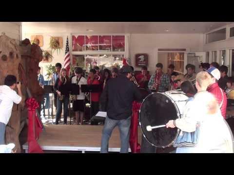 Redwood High School Pep Band Performs at Larkspur Landing 9/24/12
