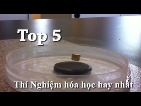 Top 5 Thí nghiệm hóa học ở nhà hay nhất! --