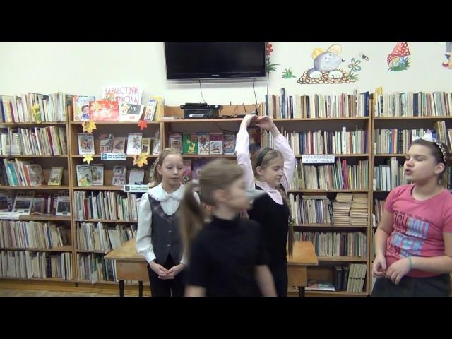 Изображение предпросмотра прочтения – «5 в класс МБОУ Лицей №23 г.Озёрск» читает произведение «Свинья под дубом» И.А.Крылова