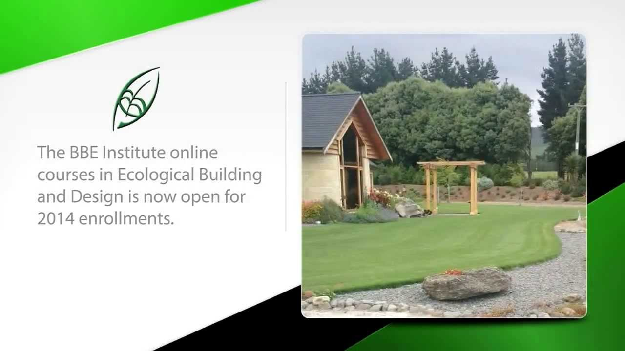 Online course Ecological Building and Design - YouTube