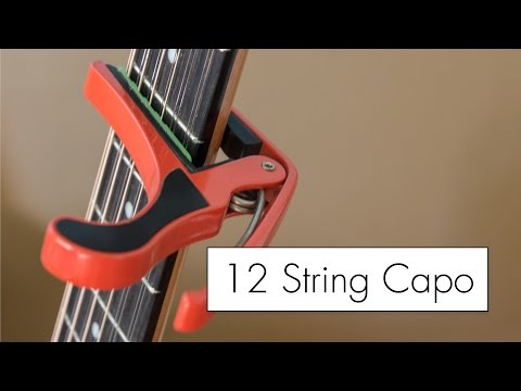 A 12 String Guitar Capo Mod