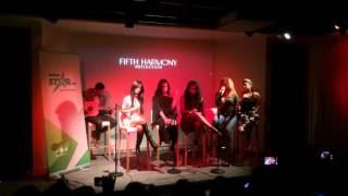 fifth harmony singing i m in love with a monster in madrid 27 10 15