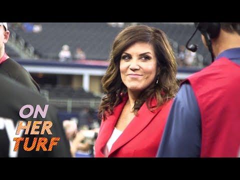 Sunday Night Football: Behind the scenes with Michele Tafoya I On Her Turf I NBC Sports