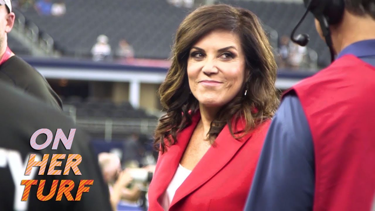 Sunday Night Football: Behind the scenes with Michelle Tafoya I On Her Turf I NBC Sports
